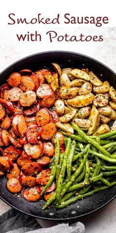 Sausage Recipes, Pork Recipes, Cooking Recipes, Healthy Recipes, Sausage Meals, Recipies, Weeknight Meals, Quick Meals, Food Dishes