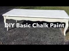 Soft Clear Wax Recipe for Chalk Paint & Furniture- 2 Ingredients $3 TO MAKE! - YouTube