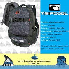 Uma marca que foi criada com o perfil para o público exigente.  #tripcool #trip #backpack #lugagge #lunchbox #lunchcases #designs #designdigital #designer #designgrafico #webdesign #web #mochilas #mochiletes #designprodutos #graphicdesign #productdesign #tubarao #tubaroes #sharks #leonidasdesigner #leonidas #sparta