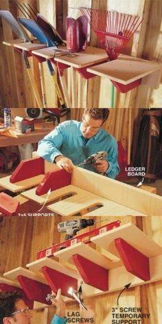 49 Brilliant Garage Organization Tips, Ideas and DIY Projects - DIY & Crafts by delia