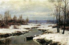 Ivan Avgustovich Welz, L'inizio dell'inverno - Athenae Noctua: Inverni ad arte: la natura innevata