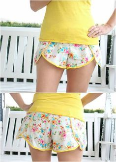 Pinwheel shorts pattern - Are you ready for summer? Well, you're not yet until you've made this easy, comfortable and adorable Pinwheel Shorts Pattern.