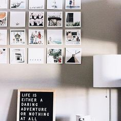 We love the way @_sarahkatharris added some inspiration to her dorm. Her adventures on Square Prints look so beautiful!