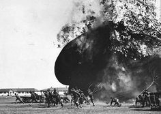 WWI, 2 April 1918, US; Men run from an exploding balloon at Post Field, Fort Sill, Oklahoma. - US National Archives. The Atlantic