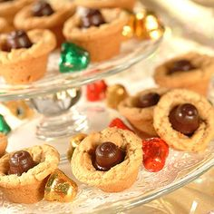 Kris Kringle Peanut Butter Cups-  These cookies are a family fav in our home!