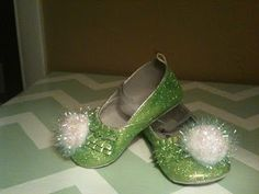 DIY Tinkerbell shoes!!!!!!!!!!!!!!!!!!!!!!!!!!!!!!!!!!!!!!!