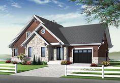 House Plan 76342 | Cottage Craftsman Plan with 1886 Sq. Ft., 3 Bedrooms, 3 Bathrooms, 1 Car Garage