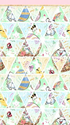 Easter Wallpaper, Holiday Wallpaper, Glitter Wallpaper, Spring Wallpaper, Craft Logo, Pretty Wallpapers, Chalk Pastels, Illuminated Letters, Cellphone Wallpaper