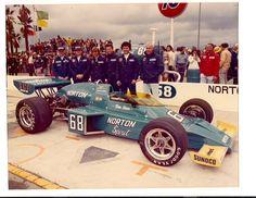 Tom Sneva Cal 500 1975 Ontario motor Speedway McLaren M-16D
