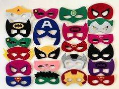 Superhero Masks Superhero Party Supplies Superhero Party Batman Party Superhero Birthday Superhero Party Favors Superhero - Batman Party - Ideas of Batman Party - Superheroe máscaras fiesta superhéroe Party Supplies Avengers Birthday, Superhero Birthday Party, 4th Birthday Parties, Batman Birthday, Superhero Party Supplies, Superhero Party Decorations, Superman Party, Mask Party, Party Packs
