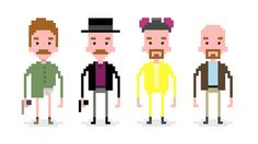 The Various Incarnations of Walter White Created by I'm a...