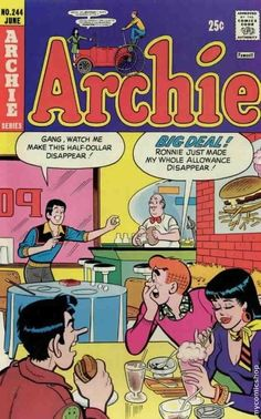 """Read """"Archie by Archie Superstars available from Rakuten Kobo. Welcome to Riverdale, the home of everyone's favorite teenager, Archie Andrews - and his closest friends! Archie Comics Characters, Archie Comic Books, Vintage Comic Books, Vintage Comics, Archie Cartoon, Archie Comics Strips, Vintage Toys, Archie Betty And Veronica, Archie Comics Riverdale"""