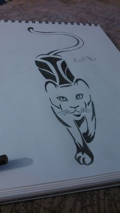 My own tribal drawing