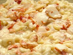 Maine Lobster Macaroni Cheese with Truffle Oil Recipe : Food Network - FoodNetwork.com