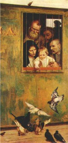 Life Is Everywhere - Mykola Yaroshenko. Artist: Mykola Yaroshenko. Completion Date: 1888.