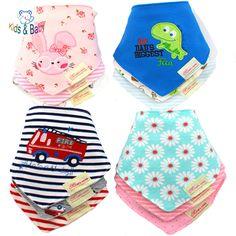Anak & Bayi 100% Katun Oto Bayi Baru Lahir Laki-laki Perempuan Para Bebe Bayi Saliva handuk Bandana Chiscarf Balita Pakaian 3 Pcs/Lot
