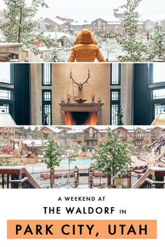 Heres how to plan a perfect weekend getaway to Park City in Utah including the best hotel to stay at if youre more in the mood for a relaxing staycation this winter. hotel restaurant travel tips tour Tips Travel Usa Travel Guide, Travel Usa, Travel Tips, Travel Guides, Travel Packing, Travel Advice, Solo Travel, Luxury Travel, Bryce Canyon