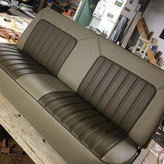 Modifying foam on a set of #corvette seats. Lots of sanding to do yet. #customseats#upholstery#hideoriginals#foamshaping #custominterior.