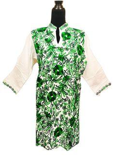 A personal favorite from my Etsy shop https://www.etsy.com/listing/506658598/women-100-cotton-tunic-dress-kurti-kurta