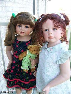 Дружная у нас семья! Monika Levenig & Monika Peter-Leicht / Коллекционные куклы Masterpiece dolls / Бэйбики. Куклы фото. Одежда для кукол