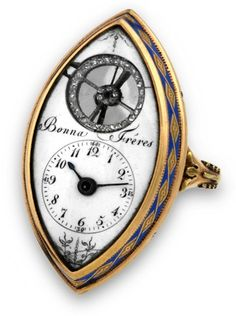 Antiquorum is the world's premiere auction house of modern and vintage timepieces. Buy or sell watches like Patek Philippe, Rolex and Audemars Piguet. Antique Watches, Antique Clocks, Vintage Watches, Vintage Rings, Vintage Jewelry, Jewelry Accessories, Jewelry Design, Mourning Jewelry, Ring Watch