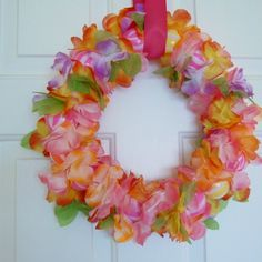 summer-wreath-flower.I would like to try and make something like this