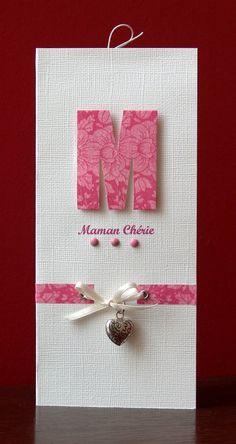 "Tout simplement ""Maman chérie""-how lovely!!!"
