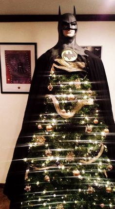 Batman Christmas tree | BATMAN | Batman christmas tree ...