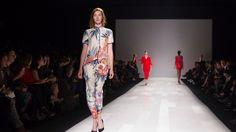 Joe Fresh model at Toronto Fashion Week