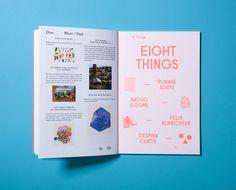 Sight Unseen Book by Studio Lin, via Behance