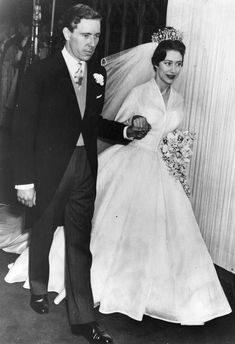 Princess Margaret and Antony Armstrong-Jones - When: May 6, 1960 Where: Westminster Abbey The Bride: Princess Margaret, sister of Queen Elizabeth II The Groom: Antony Armstrong-Jones