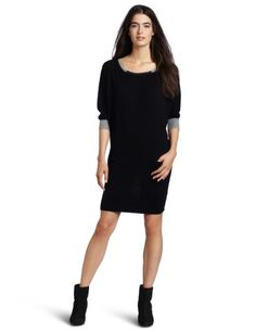 Michael Stars Womens Color Block Sweater Dress Price check Go to amazon storeReviews Read