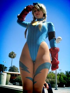Character: Cammy White / From: Capcom's 'Street Fighter' Series / Cosplayer: Unknown