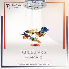 Benzersiz tasarımıyla görenleri kendine hayran bırakan Gülbahar 2 Karma Avize, evlere renk katılıyor.✨ ►https://goo.gl/VR2KVn #avizemodelleri #gülbaharavize #tavcam #handmade #colorful #tavcamistanbul #rengarenk #glass #design