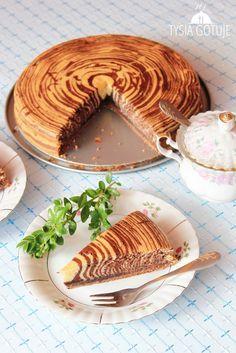 Ciasto zebra | Tysia Gotuje