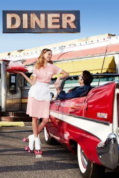 Nächster Halt: The Roadside Diner - Rockabella - vintage 1950 Diner, Vintage Diner, Retro Diner, Mode Vintage, Vintage Cars, Estilo Pin Up, Estilo Retro, Cafeteria Retro, Adulte Halloween