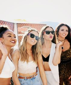 Little Mix at 98.5 KLUC in Las Vegas (Aug. 8th)