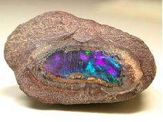 Inside a Rough Opal
