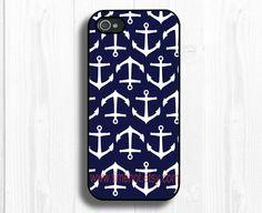 iphone 5 case---anchor iPhone 5 case, iphone 5 hard case,iphone case. $11.99, via Etsy.