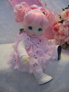 OOAK My Child Doll Pink Rose Fairy | Flickr - Photo Sharing!