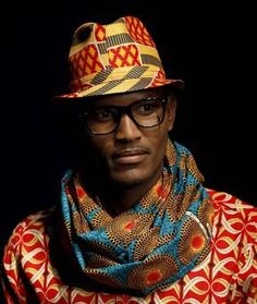 Info-tainment Kenya: African Men's Fashion: Accessorising with Arican Print Ties, Bowties, Scarves & Hats African Inspired Fashion, African Print Fashion, Africa Fashion, Ethnic Fashion, African Prints, African Wear, African Attire, African Dress, African Style