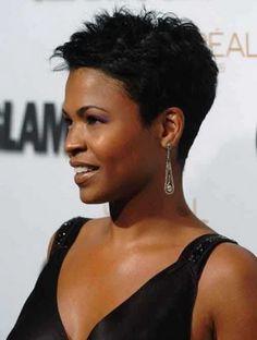 Melhor 2017 Penteados Curtos De Mulheres Negras - http://bompenteados.com/2017/02/22/melhor-2017-penteados-curtos-de-mulheres-negras.html