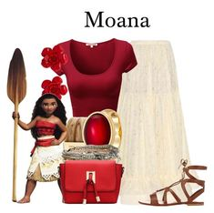 """Moana / 3-12-16"" by megan-vanwinkle ❤ liked on Polyvore featuring STELLA McCARTNEY, Chanel, Michael Kors, Karen Kane, Aéropostale, Gianvito Rossi, disney, polyvoreeditorial, disneyfashion and disneycharacter"
