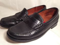 Mens Cole Haan City Dress Shoes Penny Loafer Black 9 M | eBay