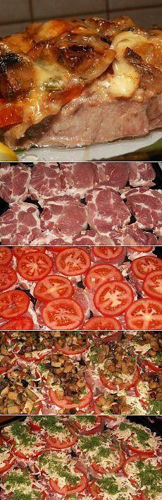 Как приготовить мясо по‑московски - рецепт, ингридиенты и фотографии