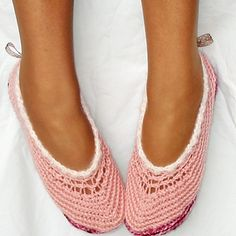 Step by step illustrated crochet pattern emailed to you in a PDF file. Optional designs included. A complimentary revamped vintage pattern for mesh ballet slippers also included!