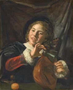 Joueur de luthe, par Frans Hals