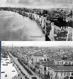 Byzantine Architecture, Greek History, Thessaloniki, Macedonia, Old Photos, Paris Skyline, Greece, Places To Visit, Europe