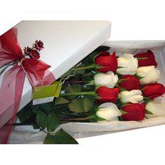 102 Mix de Rosas Importadas en caja - Exoticas Flores :: Tu Floreria en Linea.