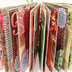 BEST FRIEND  AZ Friendship Scrapbook Photo Album by Papersilly, $44.00